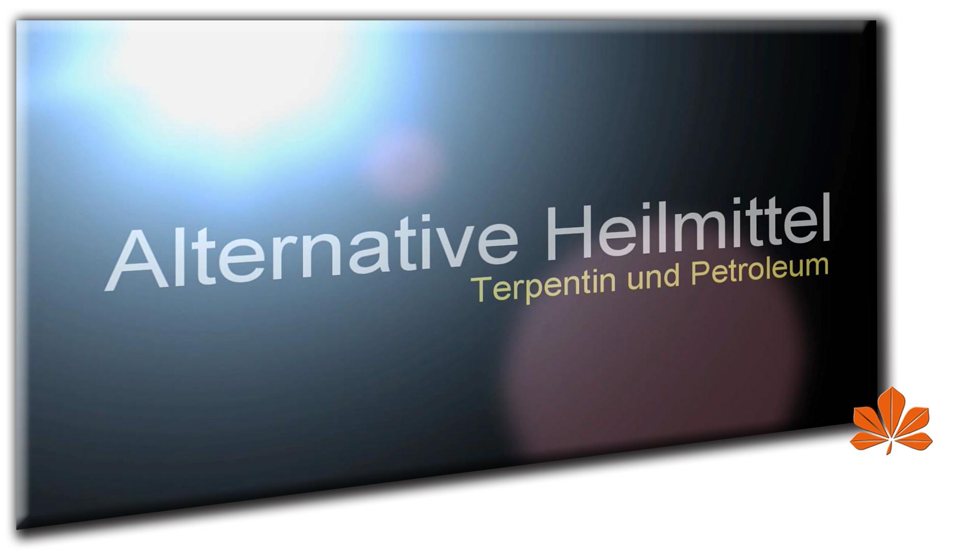 VIDEO - Terpentin und Petroleum - Chlordioxid Therapieblockaden überwinden