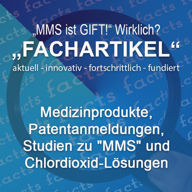 """Fachartikel – """"MMS ist GIFT!"""" Wirklich? Aktuelle Fakten"""